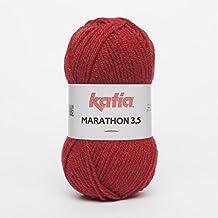 Katia - Lana Marathon 3,5 - LA.MAR.35 - 21 - Rojo oscuro