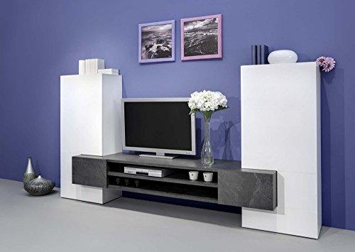 Wohnwand Mediawand Wohnzimmerschrank Fernsehschrank