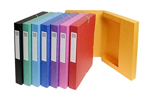 Exacompta 50300E - Pack de 8 carpetas de proyecto, multicolor