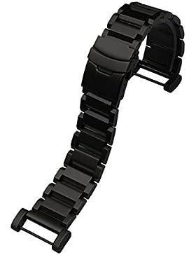 Für Suunto Core Uhr Clode® 24mm Luxus Edelstahl Quick Release-Uhrenarmband Bandanstößen Adapter für Suunto Core