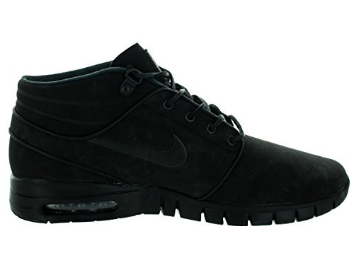 Nike Stefan Janoski Max Mid L, Scarpe da Skateboard Uomo Multicolore (Negro / Gris (Black / Black-Anthracite))