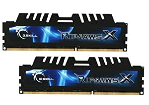 4GB G.Skill DDR3 PC3-17600 2200MHz RipjawsX Series + Cooling fan for Sandy Bridge (7-10-10-27) Dual Channel
