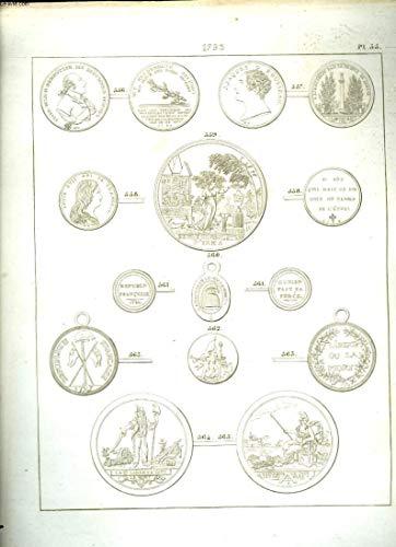 Histoire Numismatique de la Révolution Française. Planche N°55 : 1793 par HENNIN et VERAN