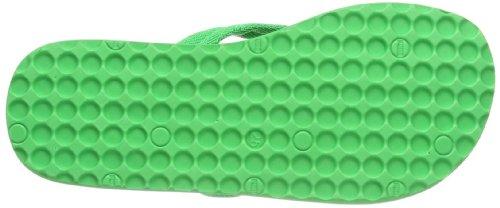 Puma  Epic Flip FIL Jr, tongs mixte enfant Vert - Grün (island green-buttercup-black 02)