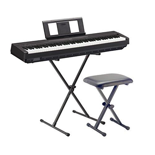 Yamaha E-Piano P45 BK schwarz SET2 mit Ständer und Bank