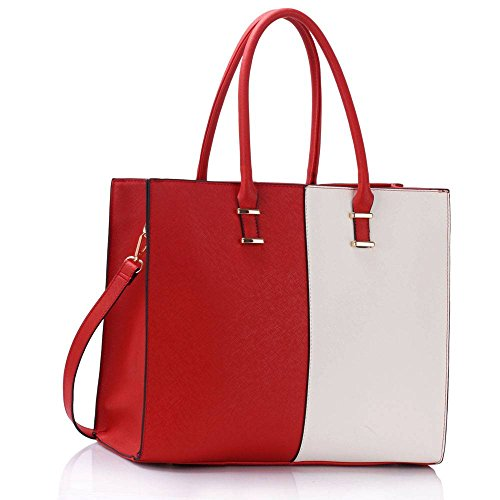 leesun-london-borsa-tote-donna-rosso-red-white-tote-bag-l
