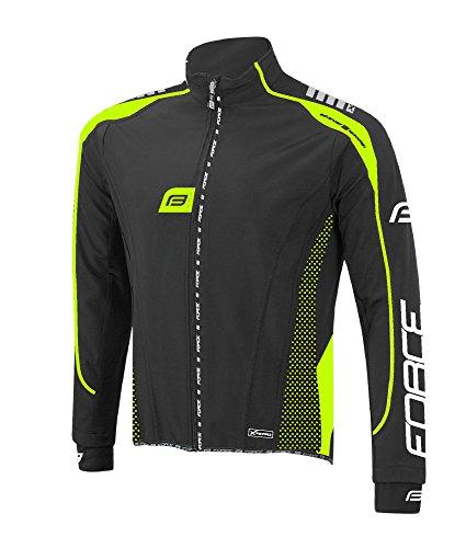 Forza Giacca Softshell da ciclismo X72Pro, vari colori, Black - black/yellow, XXL