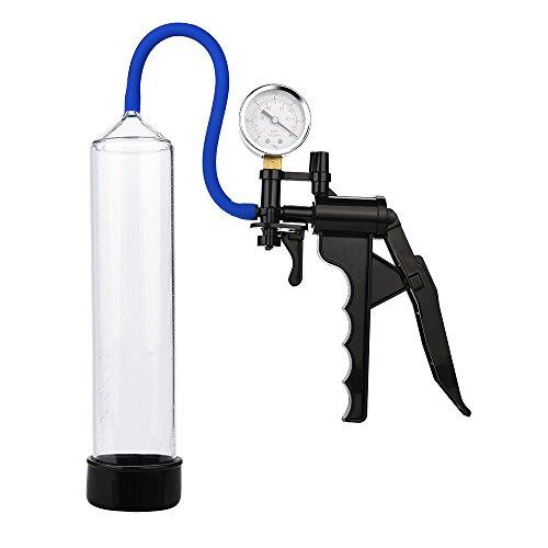 BaZhaHei Refuerzo de los Hombres Agrande la máquina de succión del Dispositivo de retardo del Sexo del Dispositivo de extensión Masculino de Refuerzo de la Bomba de vacío de los Hombres Ejercitador