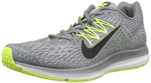 big sale 2e7a6 29be4 NIKE Men s Zoom Winflo 5 Running Shoes, (Cool Black Wolf Grey Pure