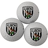 West Bromwich Albion 3 Pack Golf Ball Gift Set