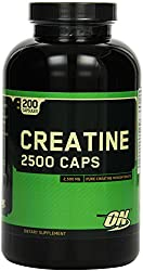 Optimum Nutrition Creatine 2500 200 Kapseln, 1er Pack (1 x 250 g)