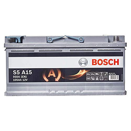BOSCH S5 A15 Batteria Silver Auto 12V 105Ah 950A/EN
