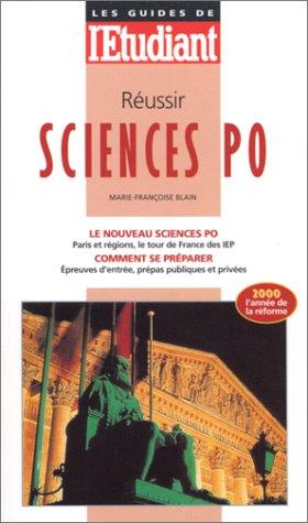 Réussir Sciences Po, édition 2000 par Blain