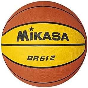 Mikasa, Palla da da da basket Br 612, Arancione (arancia   giallo), Taglia unica B0039KMY6G Parent | Nuove Varietà Vengono Introdotti Uno Dopo L'altro  | Up-to-date Stile  | Forte calore e resistenza al calore  | Moda moderna ed elegante  512a3c