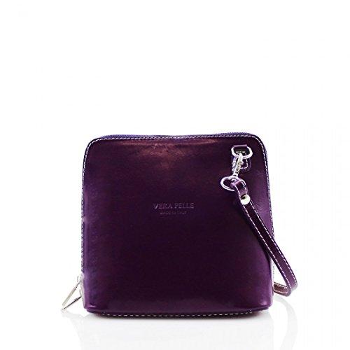 Vera Pelle, Borsa a tracolla donna Purple
