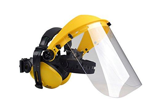 Oregon Q515062 - Protectores oídos visor policarbonato