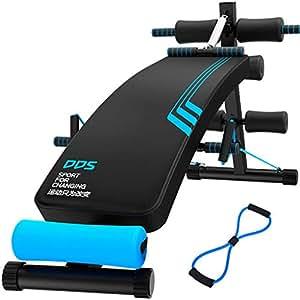 GUO@ Comodino Regolabile per la casa, Attrezzatura Fitness Multifunzionale Articoli Sportivi