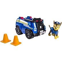 Paw Patrol – Chase y su Camión Policía – Vehículo y Figura La Patrulla Canina