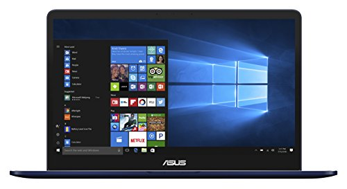 Asus Zenbook Pro 90NB0ET1-M01320 39.6 cm (15.6 Zoll FHD) Notebook (Intel Core i7-7700HQ, 16GB RAM, 512GB SSD, NVIDIA GeFore GTX 1050, Win 10 Home) blau