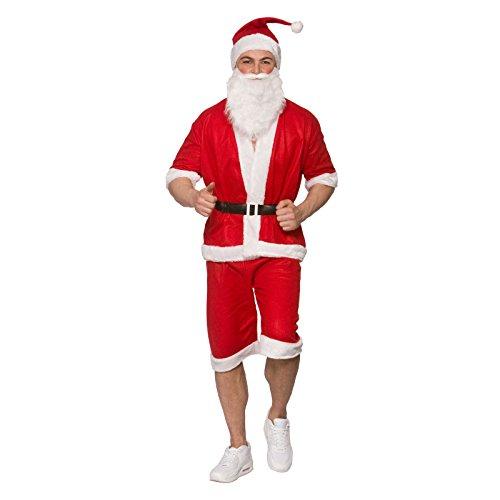 MENS RUNNING/HOLIDAY SANTA CHRISTMAS FANCY DRESS COSTUME
