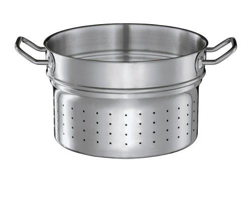 Sieb Mit Topf Deckel Pasta (Rösle 91672 Pastaeinsatz Multiply, 24 cm Durchmesser)