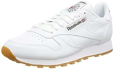 Reebok Classic Leather, Scarpe da Ginnastica Uomo, Bianco (White/Gum), 42