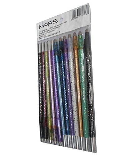 Mars Perfect Sparkle Eye & Lipliner Pencil Rich Color Moisturizing Formula