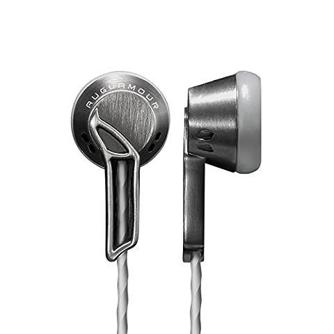 Mini écouteurs intra-auriculaires en alliage de zinc Entièrement en métal HiFi Isolation phonique casque audio de 3,5mm Bass Écouteurs stéréo Earbud Jack pour iPhones 766S 55S Android Samsung Blackberry HTC LG MP3MP4
