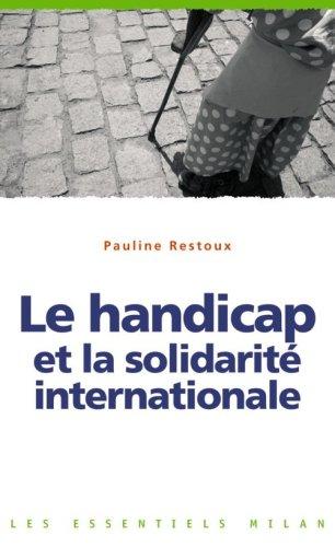 Le handicap et la solidarité internationale