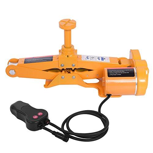 nne Automotive Electric Car Scherenwagenheber Lifting Jack Van Garage Werkzeug mit Speicher Fall, Hubhöhe 17-42 cm ()
