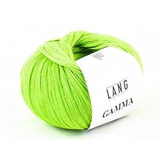 Lang Gamma Wolle Baumwolle Farbwahl Bändchengarn (16 - Hellgrün)