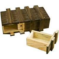 Generic Magic Wooden Box With Extra Secure Secret Drawer