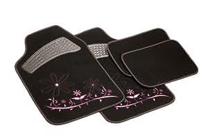 unitec 73112 lot de tapis de sol lady style. Black Bedroom Furniture Sets. Home Design Ideas
