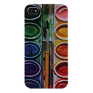 MOFY- Malkasten Pattern Hard Case fŸr iPhone 4/4S