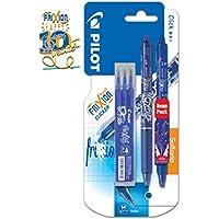 PACK ESPECIAL PILOT FRIXION - 10º Aniversario - 1 Frixion Clicker Azul - 1 1 Frixion Clicker EDICION LIMITADA Azul 3 Recambios Azules