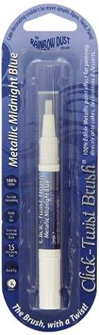 Click-Twist Food Paint Brush - Metallic Midnight Blue