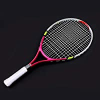 d376f765ec Dioche Racchetta da tennis junior, durevole corda singola racchetta da  tennis per bambini formazione pratica