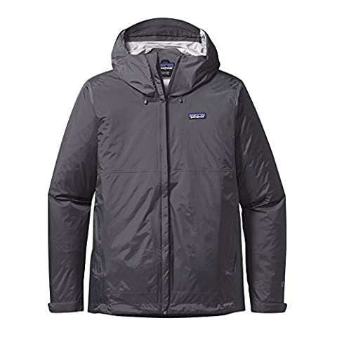 Patagonia Men's Torrent Shell Jacket - Forge Grey, (Mens Completo Giacca In Nylon)