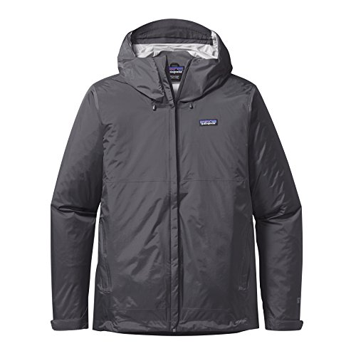 Patagonia Herren Torrent Shell Jacke - Forge Grau, Large Performance Tour Jacket