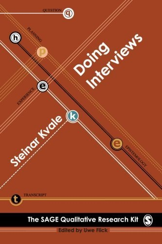 Doing Interviews by Steinar Kvale (2008) Paperback