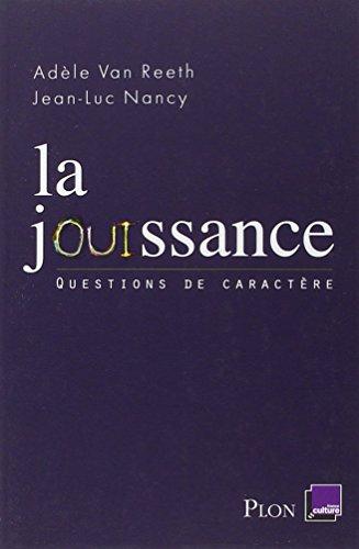 La jouissance par Jean-Luc NANCY