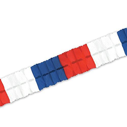 f Garland rot/weiß / blau ()