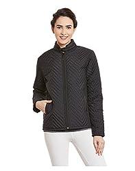 Yepme Womens Black Poly Cotton Jackets - YPWJACKT00114_M