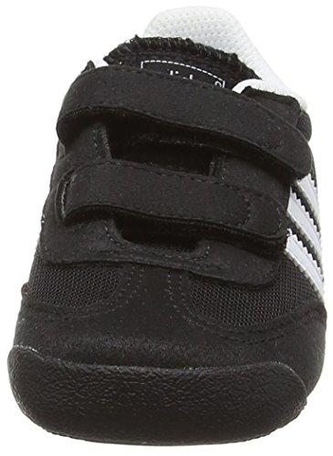 adidas Originals Dragon, Baskets premiers pas mixte bébé Noir - Schwarz (Core Black/Ftwr White/Core Black)