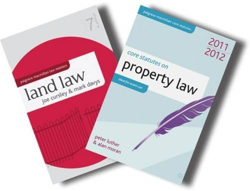Land Law + Core Statutes on Property Law 2011-12 Value Pack by Joe Cursley (2011-08-19)