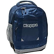 Rucksack KAPPA blau mit grauen Streifen Freizeit Schule Spor