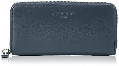 Blau Geldbörse (Liebeskind Berlin Damen Glossy Slg Gigi Wallet Large Geldbörse, Blau (Urban Blue), 2x9x19 cm)