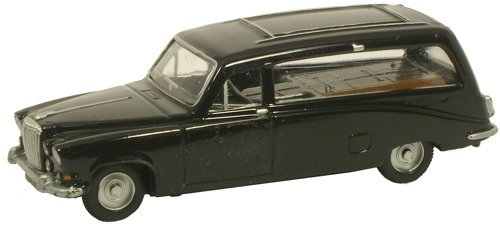 oxford-noir-ds420-daimler-voiture-corbillard-176-ferroviaire-echelle-moule-sous-pression-modele