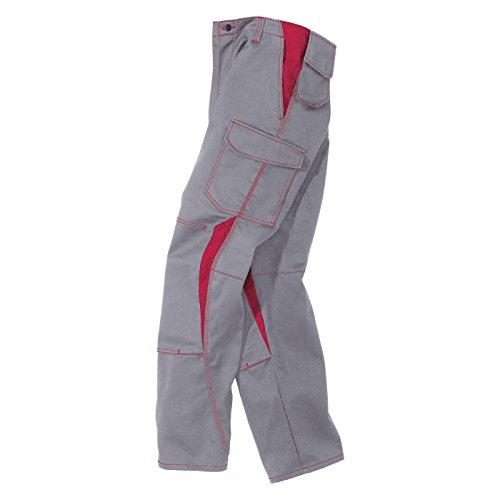 Kübler pantalon de travail 2346 Gris/Rouge