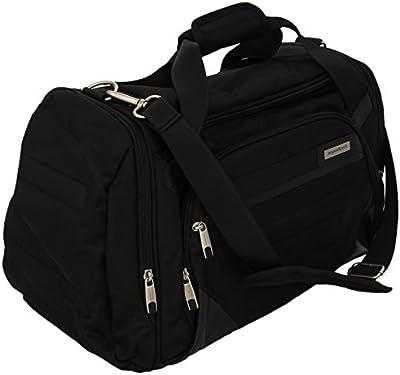 AspenSport Sport und Reisetasche - Bolsa de deporte, color negro, talla 58 x 28 x 47 cm